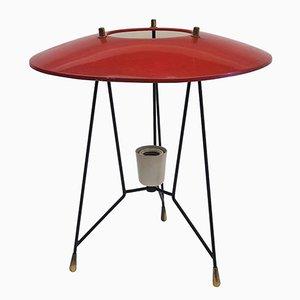 Lámpara de mesa de Stilnovo, años 50
