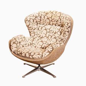 Drehbarer Egg Chair von Lennart Bender für Ulferts Möbler, 1970er
