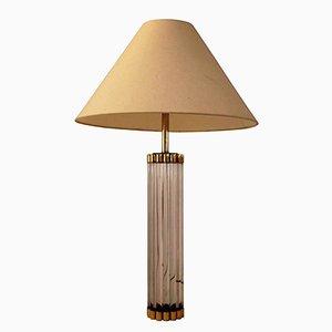Lámpara de mesa de Gabriella Crespi, años 70
