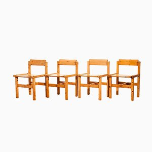Dining Chairs by Edvin Helseth for Tibro, 1960s, Set of 4