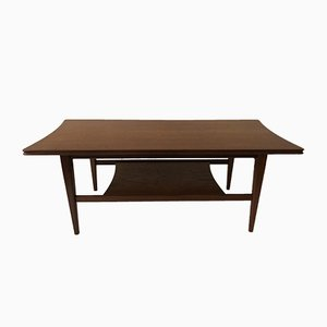 Vintage British Coffee Table in Teak