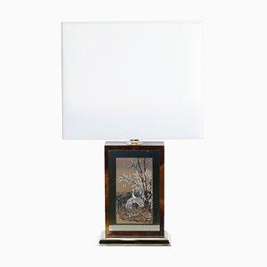 Lackerte Lampe von Jean Claude Mahey für Maison Roméo, 1970er