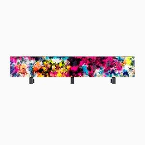 Mueble Dreams 3m de colores de Cristian Zuzunaga para BD Barcelona