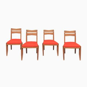 Vintage Chairs by Guillerme & Chambron for Votre Maison, Set of 4