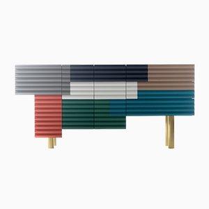 Shanty Cabinet Model B Multicolor Summer by Doshi Levien for BD Barcelona