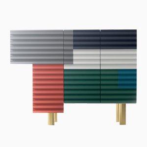 Petit Meuble Multicolore Shanty Summer par Doshi Levien pour BD Barcelona