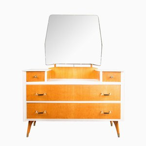 Oak & Walnut Dressing Table from Austinsuite, 1950s