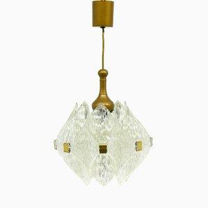 Acrylic Pendant Lamp, 1970s