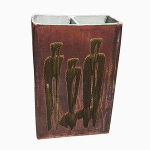 Paragüero vintage de cerámica