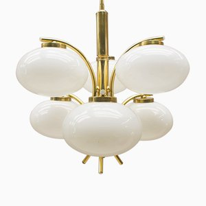 Golden UFO Orbit Pendant, 1960s