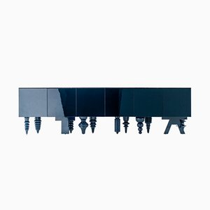 Multileg Cabinet Showtime Blue by Jaime Hayon for BD Barcelona