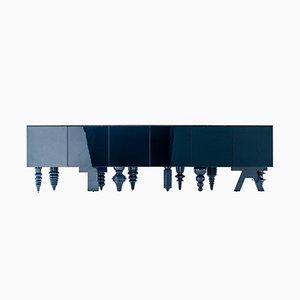Multileg Cabinet Showtime en azul de Jaime Hayon para BD Barcelona