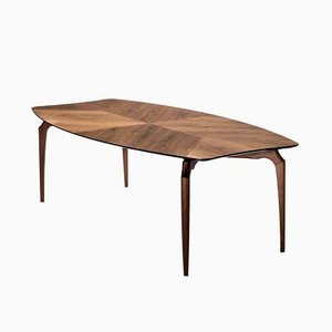 Gaulino Table Walnut 240 cm by Oscar Tusquets Blanca for BD Barcelona