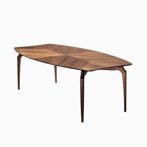 Gaulino Table Walnut 240 cm by Oscar Tusquets Blanca for BD Barcelona