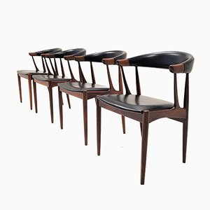 Rosewood BA113 Dining Chairs by Johannes Andersen Forandersens Møbelfabrik, 1960s, Set of 4