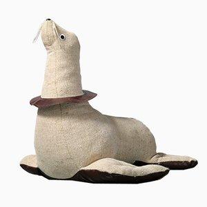 Großes Therapeutisches Seehund Spielzeug von Renate Müller, 1980er