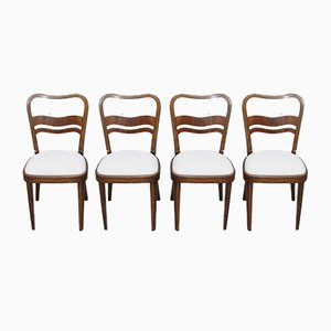 Art Deco Side Chairs from Thonet, Set of 4