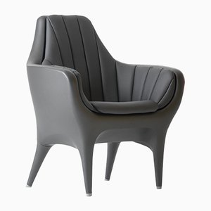 Showtime Armchair Black Showtime 10 by Jaime Hayon for BD Barcelona