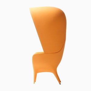 Showtime Armchair & Cover Orange Outdoor by Jaime Hayon for BD Barcelona