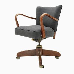 Italian Swivel Chair, 1940s