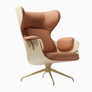 Lounger Sessel aus Eschenholz von Jaime Hayon für BD Barcelona
