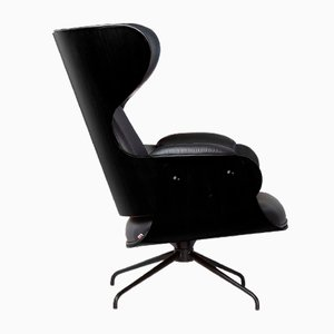 Lounger Armchair Ash Stained Black by Jaime Hayon for BD Barcelona
