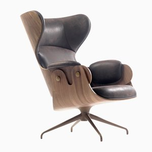 Lounger Armchair Walnut by Jaime Hayon for BD Barcelona