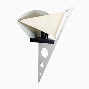 Lámpara de pared de Steve Lombardi para Artemide, años 80