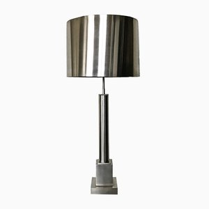 Vintage French Colonne Table Lamp from Maison Charles