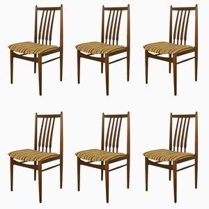 Mid-Century Danish Teak Dinning Chairs, Set of 6