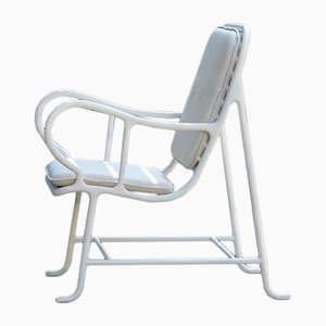 Gardenias Outdoor Armchair White by Jaime Hayon for BD Barcelona