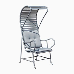 Gardenias Outdoor Armchair with Pergola Grey by Jaime Hayon for BD Barcelona
