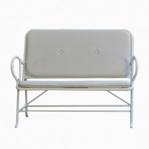 Gardenias Outdoor Bench White by Jaime Hayon for BD Barcelona