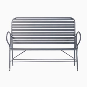 Gardenias Outdoor Bench Grey by Jaime Hayon for BD Barcelona