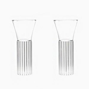 Bicchieri Sofia alto e piccolo di Felicia Ferrone per fferrone, 2016, set di 2