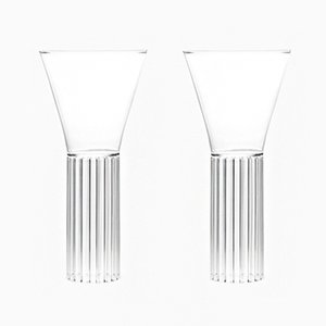 Sofia Tall & Medium Glasses by Felicia Ferrone for fferrone, 2016, Set of 2