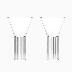 Sofia Tall & Large Glasses by Felicia Ferrone for fferrone, 2016, Set of 2