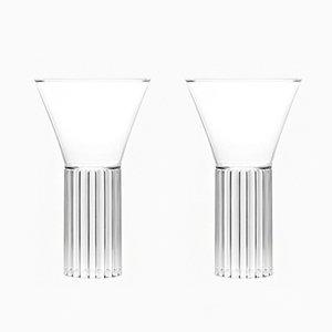 Sofia Tall & Large Glasses by Felicia Ferrone for fferrone, 2016, Set of 2