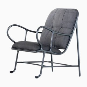 Gardenias Indoor Armchair Black by Jaime Hayon for BD Barcelona
