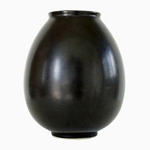 Vase Vintage en Céramique par Jan Bontjes van Beek