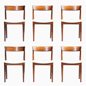Dining Chairs by Henry Rosengren Hansen for Brande Møbelindustri, 1960s, Set of 6