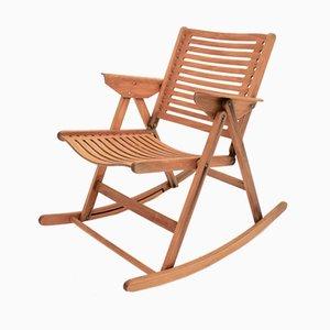 Rocking Chair Pliable Modèle Rex par Niko Kralj, 1950s