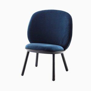 Chaise Basse Naïve Bleue par etc.etc. pour Emko