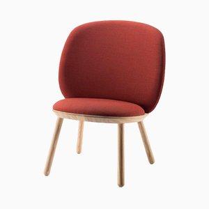 Chaise Basse Naïve Rouge par etc.etc. pour Emko