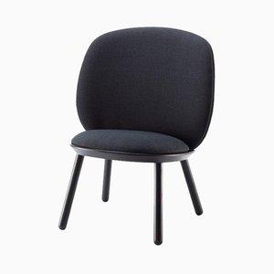 Chaise Basse Naïve Noire par etc.etc. pour Emko