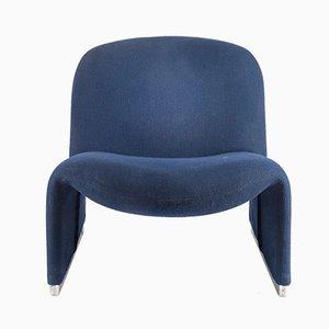 Grauer Vintage Alky Stuhl von Giancarlo Piretti für Castelli