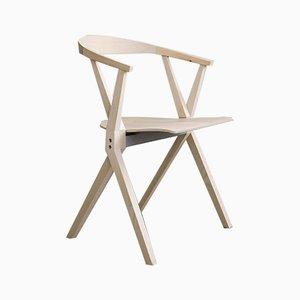 Chair B in naturbelassenem Eschenholz von Konstantin Grcic für BD Barcelona