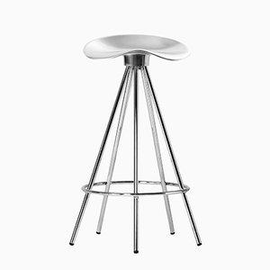 Tabouret Jamaica H 66 cm avec Siège Aluminium par Pepe Cortés pour BD Barcelona
