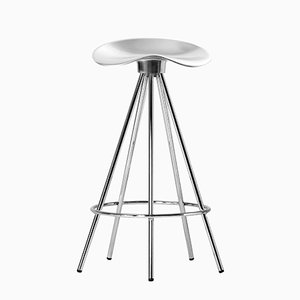 Taburete Jamaica con asiento de aluminio de 66 cm de alto de Pepe Cortés para BD Barcelona