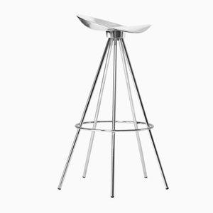 Taburete Jamaica con asiento de aluminio de 77 cm de alto de Pepe Cortés para BD Barcelona
